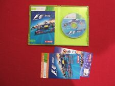 F1 2012 (Microsoft Xbox 360, 2012) With add on code - Free Shipping!