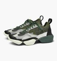 Reebok Classic 3D OP. Fractional Cool Grey Chalk Green Men Fashion Shoes CN5479