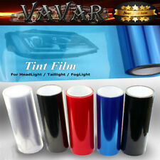 "12""x48"" Blue Smoke Headlight Taillight Fog Light Tint Film Vinyl Sheet Sticker"