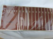 Chanel Allure Homme sealed pack of 12 samples eau de toilette 12x1.5ml RARE