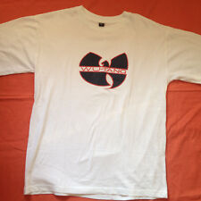 Wu-tang clan hip hop rap Blanco Camiseta Talla XL 63537ac43e7