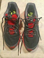 Pearl Izumi N2 V2 Road Running Shoes Black Red Men's US 10 EU 44 UK 9
