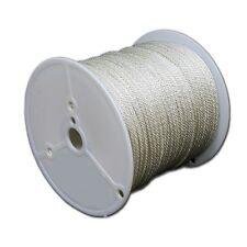 T.w. Evans Cordage 44-160 1 2-inch Solid Braid Nylon Rope 80-feet Spool Solid