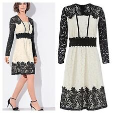 Kaliko @ Kaleidoscope Size 16 All Over Lace DRESS Wedding Races Evening Fab £160