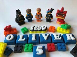 Edible Lego Movie 2 inspired Cake Topper