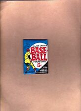 1969 TOPPS Baseball Wax Pack - NM/MT