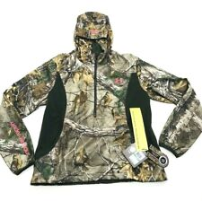 Under Armour Speed Realtree Hoodie Half Zip Pullover L R Scent Control