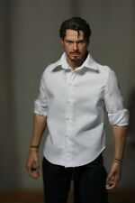 """Hot 1/6 Toys man Clothing Classic White Shirt Clothes F 12"""" Male Doll Figure"""