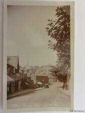 London HARROW High Street Shows HARTLEY CHEMIST & Horses Feeding Old RP Postcard