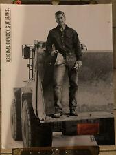 Promo Poster Advertisement for Wrangler Jeans Original Cowboy Cut Jeans