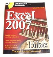 Microsoft Office Excel 2007 Bible CD-ROM Included