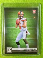 BAKER MAYFIELD ROOKIE CARD CLEVELAND BROWNS *RC* 2018 Panini Baker Mayfield #308