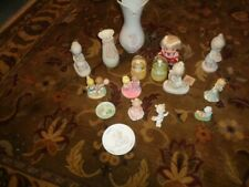 Lot of 15 Precious Moments Figurines And Ornaments - Globes - Vases - Nice Group