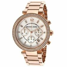 Parker Watch - 2 Year Warranty New Michael Kors Mk5491 Ladies Rose Gold