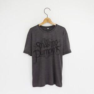 Men's 'Smashing Pumpkins' Distressed Vintage-Style Rock T-Shirt