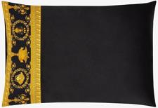 Versace Baroque Medusa Queen Size Pillow Case 2 pieces Set - Black