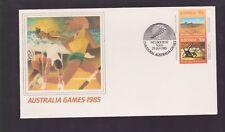 1985 Games Australia Fdc M-976 melbourne inaugural sesquicentenary celebrations