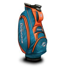 Brand New Team Golf Nfl Miami Dolphins Victory Cart Bag 31573