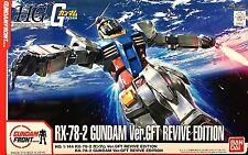 Bandai HG 1/144 RX-78-2 Gundam Ver.GFT REVIVE EDITION GFT Limited Model  Kit