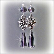 Hook Crystal Glass Fashion Earrings