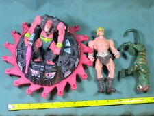 He-Man action figures lot, Mixed toy lot