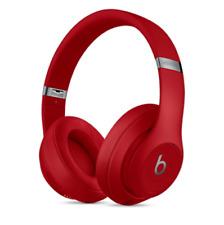 Beats by Dr. Dre Studio3 Headband Over Ear Wireless Bluetooth Headphones - Red