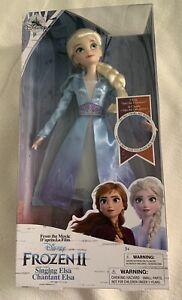 Original Disney Singende Elsa Puppe - Die Eiskönigin 2  Frozen NEU, OVP