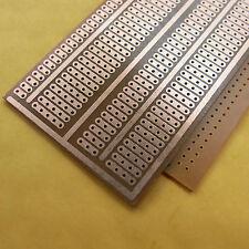 10x Stripboard Prototype paper circuit Board 5x9.5cm 2-5er hole Breadboard vero