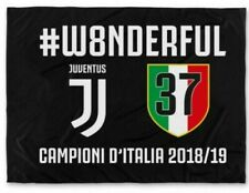 Juventus BANDIERA CELEBRATIVA W8ONDERFUL 37 SCUDETTO 2019 Wonderful UFFICIALE