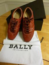 Bally Adelle Driving Shoes, Calf Leather Women's EU 37/ US 6.5 in Carmine (Red)