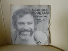 DISQUE 45 T GEORGES MOUSTAKI LE METEQUE