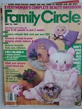 FAMILY CIRCLE JUNE 21 1983 6/21/83 RCA VIDEO DISC PLAYER CARE BEARS CRUISE SHIPS
