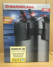 Marineland Magniflow Canister 220 for Aquarium Up to 55 Gallons