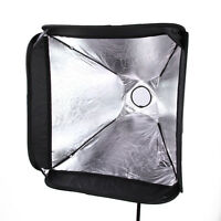 "(US) PRO Portable 16""/40cm Softbox SpeedLight Flash Shoe Soft Box Kit 40x40cm"