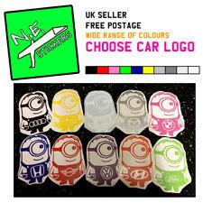 15cm tall MINION car sticker decal vinyl logo VW VAUXHALL MINI VW FORD SEAT