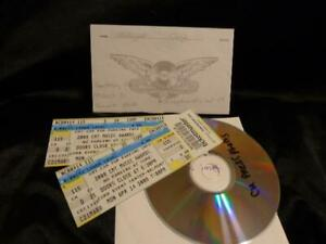 Carrie Underwood *Her Unused Tickets To The 2008 CMT Awards+Press Images Disk!