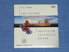 Lee Filter (Wratten) 75x75mm  80C