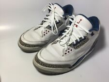 Nike Air Jordan III 3 Retro White/True Blue 2011 136064-104 SZ 8 Men's Men Shoes