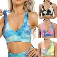 Women's Yoga Tops Light Weight Crop Tops Racerback Casual Workout Sports Vest O1