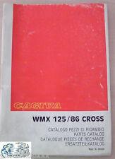 50228 Manuale Pezzi di Ricambio CAGIVA WMX 125/86 CROSS