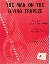 El Hombre de la habilidad de volar Trapecio - 1960 copia-Partituras