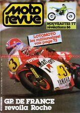 MOTO REVUE 2713 HONDA CR XR KAWASAKI KX SUZUKI RM KTM GRAND PRIX de France 1985