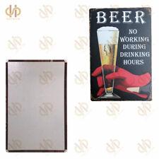 """Retro Plaque Premium Beer Metal Tin Signs Pub Beer Club 8""""*12"""""""