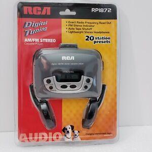 Rare Vintage RCA Digital AM/FM Stereo Cassette Player RP1872 Walkman NEW SEALED