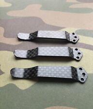 Zero Tolerance 0620 + 0630 - Black Carbon Fiber Pocket Clip