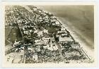 Vintage 1941 Air Aerial Photo Downtown Residential Resorts Hotels Miami Beach FL