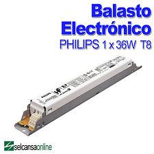 PHILIPS 93154230 HF-B 136 TLD E II Balasto Electrónico para tubo 36W