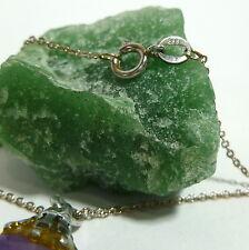 8K 333 Amethyst Quartz Chain Collier Necklace Gold Chain Gold 41 cm
