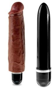 Vibratore realistico big dildo fallo vibrante vaginale anale pene finto morbido