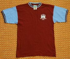1975 West Ham United Cup Winners, Retro Shirt by Score Draw, Medium - Small